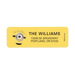 Despicable Me | Carl Face Label