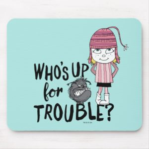 Despicable Me | Edith - Who's Up for Trouble Mouse Pad