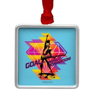 Despicable Me | Evil Bratt - Goal…World Domination Metal Ornament