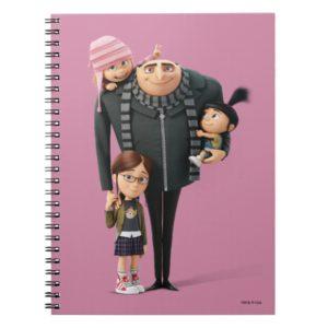 Despicable Me | Gru, Agnes, Margo & Edith Notebook