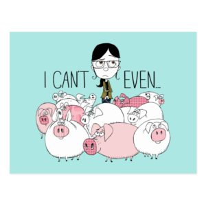 Despicable Me | Margo - I Can't Even Postcard