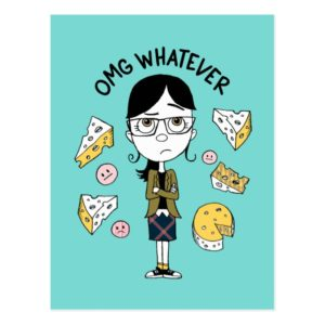 Despicable Me | Margo - OMG Whatever Postcard