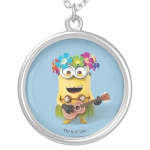 Despicable Me | Minion Aloha Silver Plated Necklace