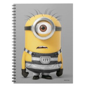 Despicable Me | Minion Carl in Jail Notebook