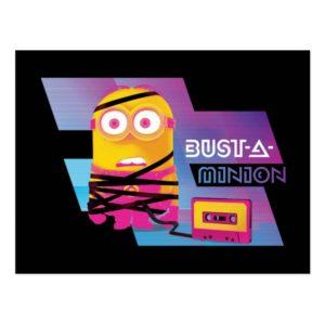 Despicable Me | Minion Dave - Bust-A-Minion Postcard