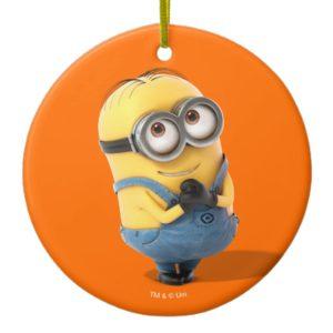Despicable Me   Minion Dave Happy Ceramic Ornament