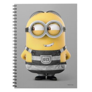 Despicable Me | Minion Dave in Jail Notebook