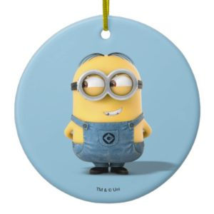 Despicable Me | Minion Dave Smiling Ceramic Ornament