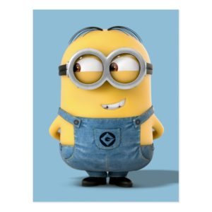 Despicable Me | Minion Dave Smiling Postcard