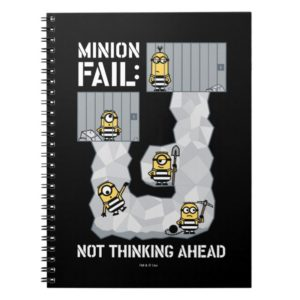 Despicable Me | Minion Fail: Not Thinking Ahead Notebook