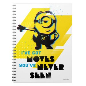 Despicable Me | Minion Got Moves You've Never Seen Notebook