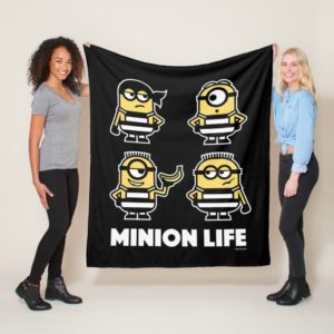 Despicable Me | Minion Life in Jail Fleece Blanket