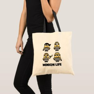 Despicable Me | Minion Life in Jail Tote Bag