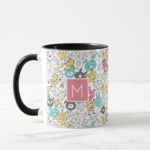 Despicable Me | Minion & Pig Colorful Pattern Mug