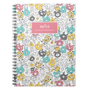 Despicable Me | Minion & Pig Colorful Pattern Notebook