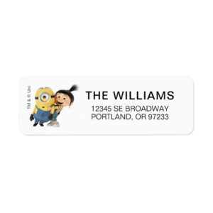 Despicable Me | Minion Stuart & Agnes Label