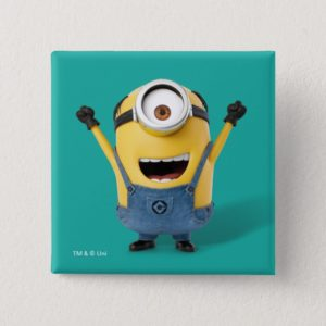Despicable Me | Minion Stuart Excited Button