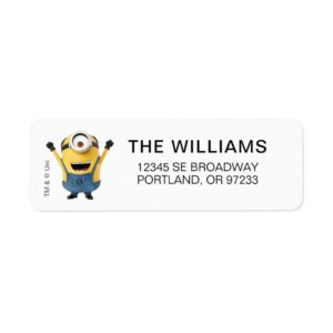 Despicable Me | Minion Stuart Excited Label