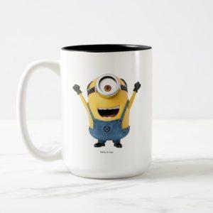 Despicable Me | Minion Stuart Excited Two-Tone Coffee Mug