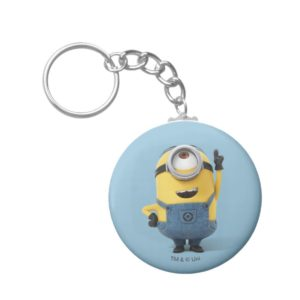 Despicable Me | Minion Stuart Pointing Up Keychain