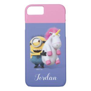 Despicable Me   Minion Stuart & Unicorn Case-Mate iPhone Case
