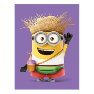 Despicable Me | Minion Tom on Vacation Postcard