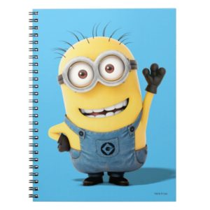 Despicable Me   Minion Tom Waving Notebook