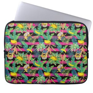 Despicable Me | Minion Tropical Pattern Computer Sleeve