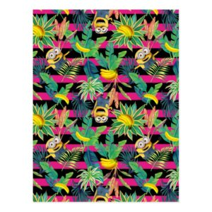 Despicable Me | Minion Tropical Pattern Postcard