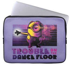 Despicable Me   Minion Trouble on the Dance Floor Computer Sleeve