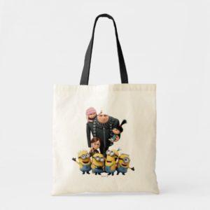 Despicable Me | Minions, Gru, Agnes, Margo & Edith Tote Bag