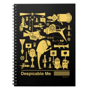 Despicable Me | Minions, Gru, and Icons Notebook
