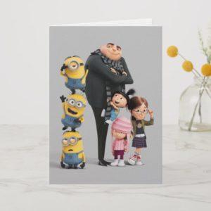 Despicable Me | Minions, Gru & Girls Card