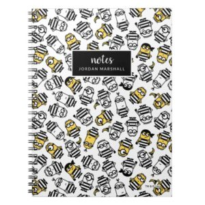 Despicable Me | Minions in Jail Pattern Notebook