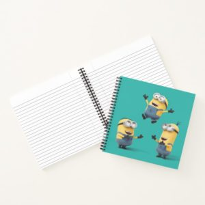 Despicable Me | Minions Jumping Notebook