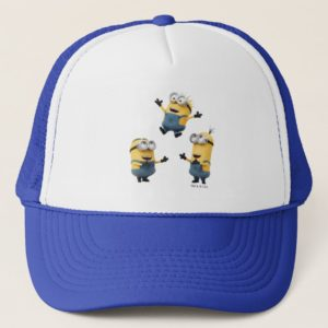 Despicable Me | Minions Jumping Trucker Hat