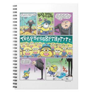Despicable Me | Minions No More Villiany Comic Notebook