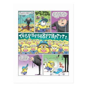 Despicable Me | Minions No More Villiany Comic Postcard
