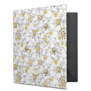 Despicable Me | Minions & Pig Pattern 3 Ring Binder