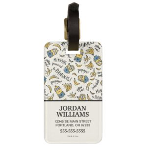 Despicable Me | Minions - Powered by Bananas Bag Tag