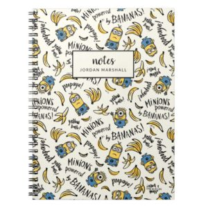 Despicable Me | Minions - Powered by Bananas Notebook