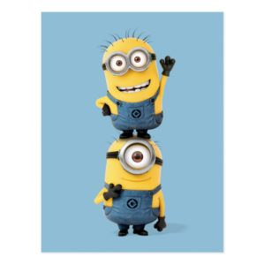 Despicable Me | Minions Tom & Stuart Stacked Postcard