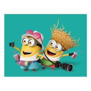 Despicable Me | Minions Vacation Postcard