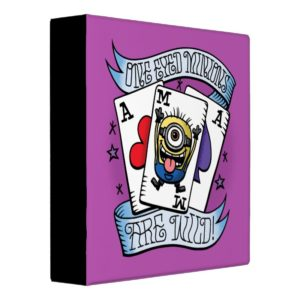 Despicable Me | One Eyed Minions are Wild 3 Ring Binder