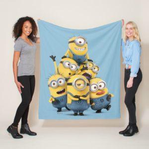 Despicable Me | Pyramid of Minions Fleece Blanket