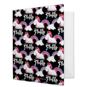 Despicable Me | Unicorn Rainbow Pattern 3 Ring Binder