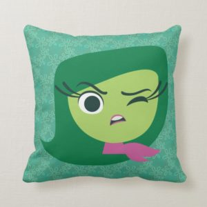 Disgust Throw Pillow