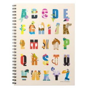 Disney Alphabet Mania Notebook