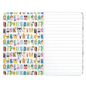Disney Alphabet Mania Pattern Journal