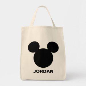Disney Logo | Black Mickey Icon Tote Bag
